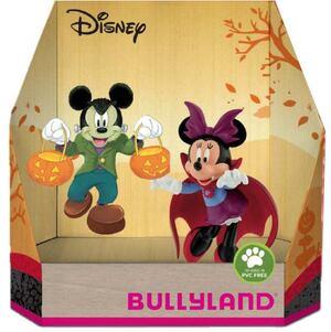 BULLYLAND Micky Halloween 2-er Pack Geschenk-Set, PVC-frei, handbemalt