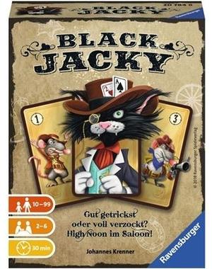 Ravensburger Black Jacky, d ab 10 Jahren, 2-6 Spieler, Spieldauer 20 Min. 60520784