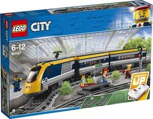 LEGO Personenzug Lego City Eisenbahn, ab 6 Jahren