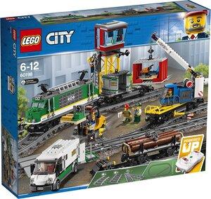 LEGO Güterzug Lego City Eisenbahn, ab 6 Jahren 60198