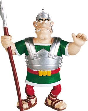 PLASTOY Asterix: Figur Legionär mit Lanze PLA60520