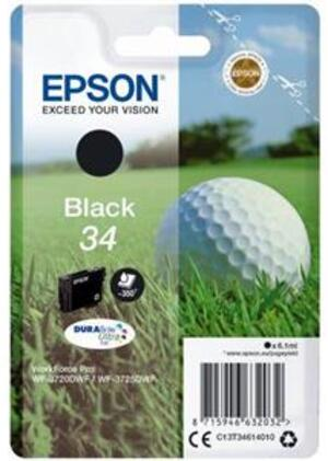 EPSON Tintenpatrone schwarz T346140
