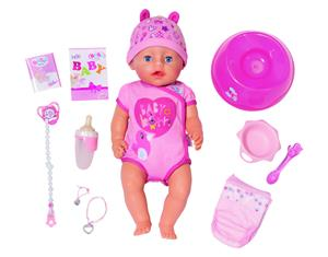 Zapf Creation Baby born Soft Touch Blue Eyes 30024368