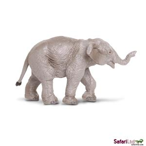 Safari Wildlife Elefantenbaby asiat.(6) 9.5 x 5 cm 222329