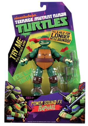 Playmates Toys TMNT Figuren m. Sound ass. (8) 91160