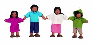 PlanToys Puppenfamilie südländisch 1345A1