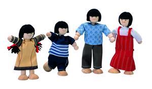 PlanToys Puppenfamilie asiatisch 7417