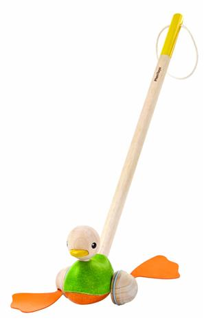 PlanToys Ente zum Stossen 5626