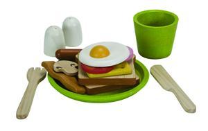 PlanToys Frühstücksmenü auf Teller Plantoys;3602