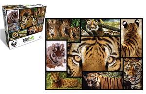 WWF 1000-Puzzle Tiger(2) WWF084