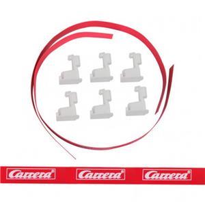 Carrera GO! Leitplankenset breit, rot ab Produktion 2012 88304