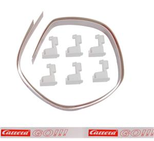Carrera GO! Leitplankenset breit, weiss ab Produktion 2012 88305