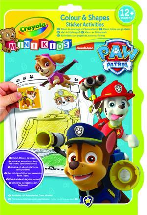 Crayola Mal- & Stickerbuch Paw Patrol 81-1373-E-000