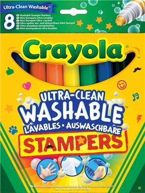 Crayola 8 Stempel auswaschbar (6) 58-8129-E-000