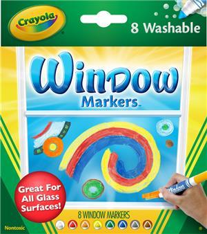 Crayola 8 Fensterstifte (6) 58-8165