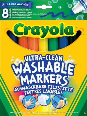 Crayola 8 Marker auswaschbar ultra(6) 58-8328-E-000