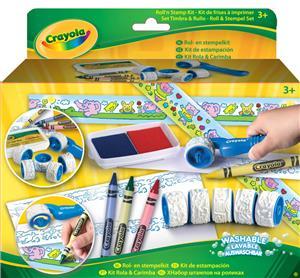 Crayola Roll- & Stempel-Set (2) 4-101804-1018-E-000
